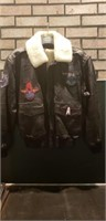 Mens size 38 alamos leather jacket
