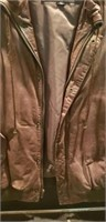 Mens size 42 leather Wilson jackets
