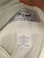 Estate lot of men's dress shirt