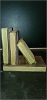 Pair of Faux Book Bookends
