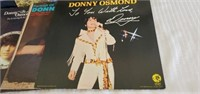 Lot of 19 Misc Donny Osmonds Records