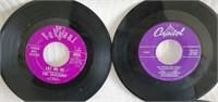 Lot of 88 Misc Elvis,Snowbird,Columbia 45 Records
