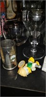 Lamp oil, glasses, snoopy, norman rockwell