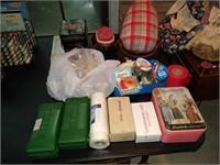 Estate lot of sewing items