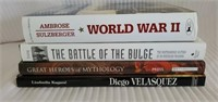 Lot of 4 Books-WWII, Battle Of Bulge, and More