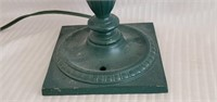 Vintage Metal Green Adjustable Desk Lamp