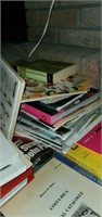 Huge Estate Lot of NAT GEO, Magazines, Etc