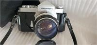 Lot of 2 Vintage Nikkormat & Argus Cameras