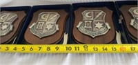 Lot of 4 6917th Security Group Plaques