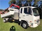 Fuso Fighter 6 4x2|Crane Truck|Tipper