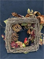 Custom Made Holiday Wreath