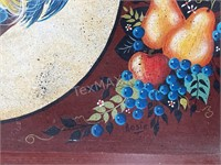 Hand Painted Roaster Tray