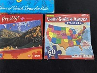 (3) Board Games & (2) Puzzles