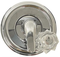 Danco Decorative Styling 2-Handle Chrome Tub And