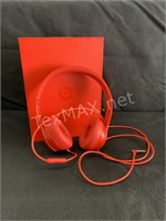 BEATS Solo Ear Phones, Red