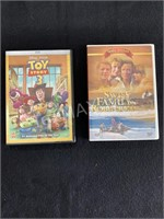 (2) DVD's Swiss Family Robinson, Toy Story 3