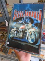 ESTATE COLLECTIBLE METAL SIGNS AND CHILDRENS GUITARS ONLINE