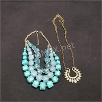 (2) Statement Necklaces