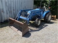 New Holland Tc33d 1370 Hrs With Bucket