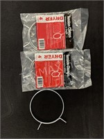 (3) DRYER Tension Clamps 4 IN.