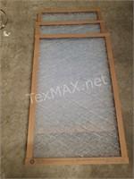 (3) True Blue 16x25x1 Air Filters