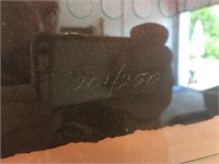 Signed Paul Maxwell Original Stencil Casting