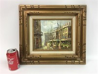 Signed Conder Oil Painted
