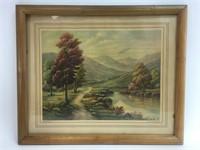 Vintage Thomas Manning Moore Art Print