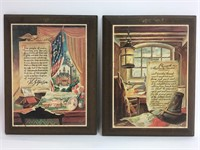 Vintage Historical U.S. Document Art