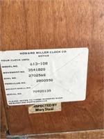 Vintage Howard Miller Wall Clock 613-108