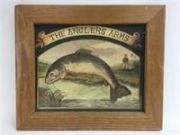 Vintage Mid Gordon The Anglers Arms Print