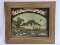 Vintage Mid Gordon The Fishing Club Art Print Art