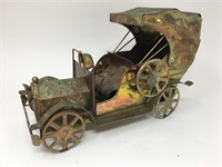 Vintage Copper Classic Car Music Box