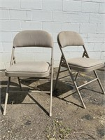 Pair of Cosco Folding Chairs