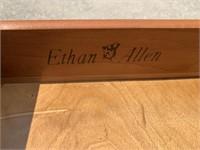Ethan Allen Wooden Side Table