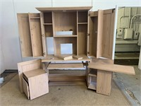 Pressed Wood PROJECT Desk Cabinet