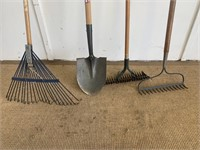 Mixed Yard Tool Lot