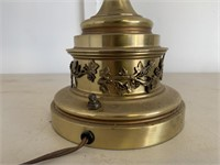 Brass and Glass Vintage Lamp