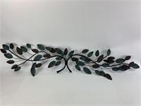 Vintage Metal Leaf Art