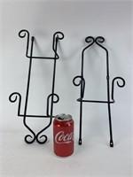 Vintage Metal Wall Hooks