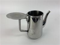 Vintage Stainless Steel Tea Pot
