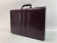 Vintage Top Grain Leather Briefcase