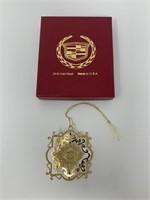 Cadillac 24Kt Gold Finish Ornaments Lot