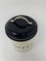Vintage Coffee Storage Tin