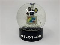 Vintage Millennium Snow Globe
