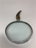 Vintage Antler Magnifying Glass