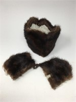 Vintage Real & Faux Fur Clothing Accessories