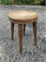 Vintage Wooden Small Stool