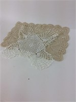 Two Vintage Doilies