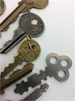 Vintage/Antique Keys